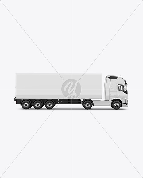 Truck Mockup - Side View