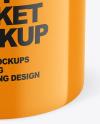 Glossy Paint Bucket Mockup