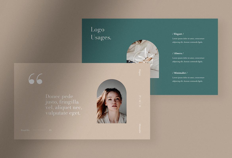 Almera - Brand Kit Presentation