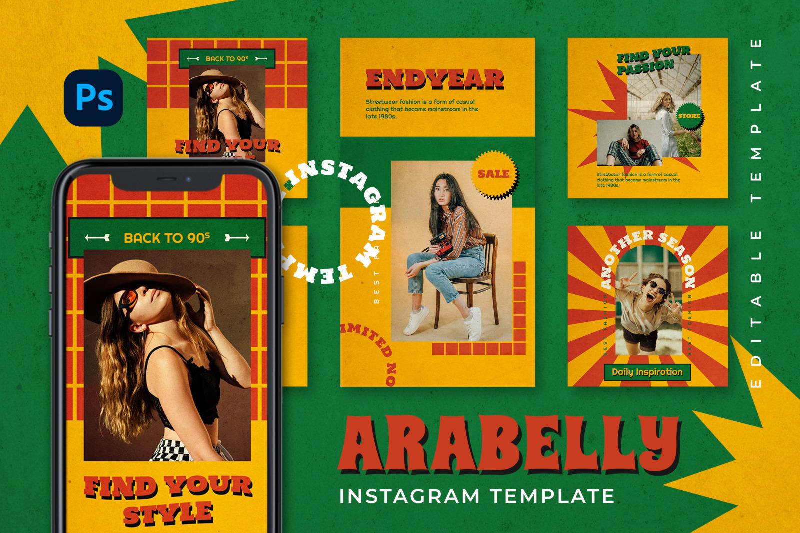 Arabelly Instagram Template