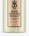 Frosted Diffuser Bottle Mockup