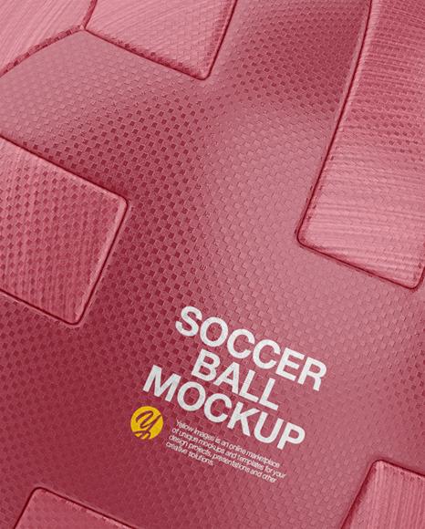 Soccer Ball Mockup