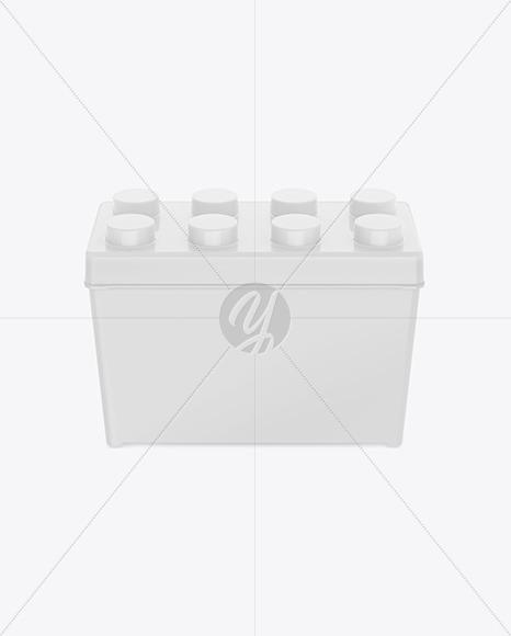 Glossy Plastic Box