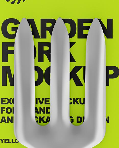 Garden Fork Mockup
