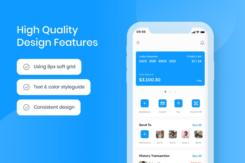 Mu-Bank - Banking App UI Kit