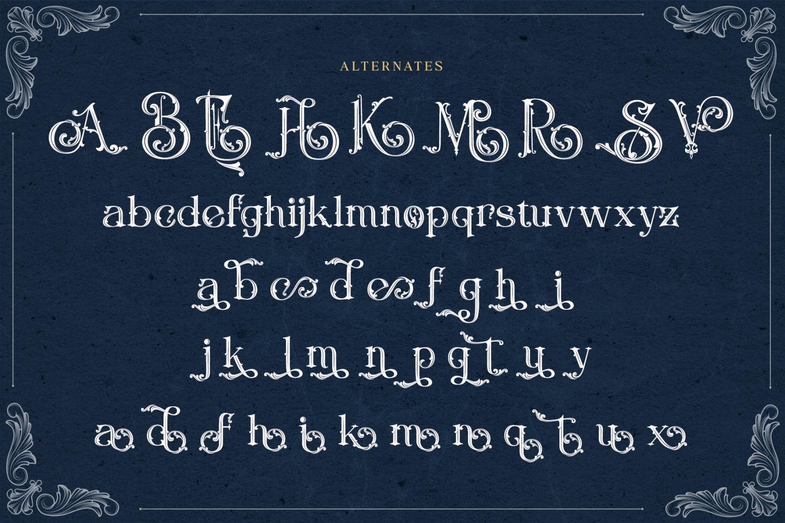 Rusty Store Font