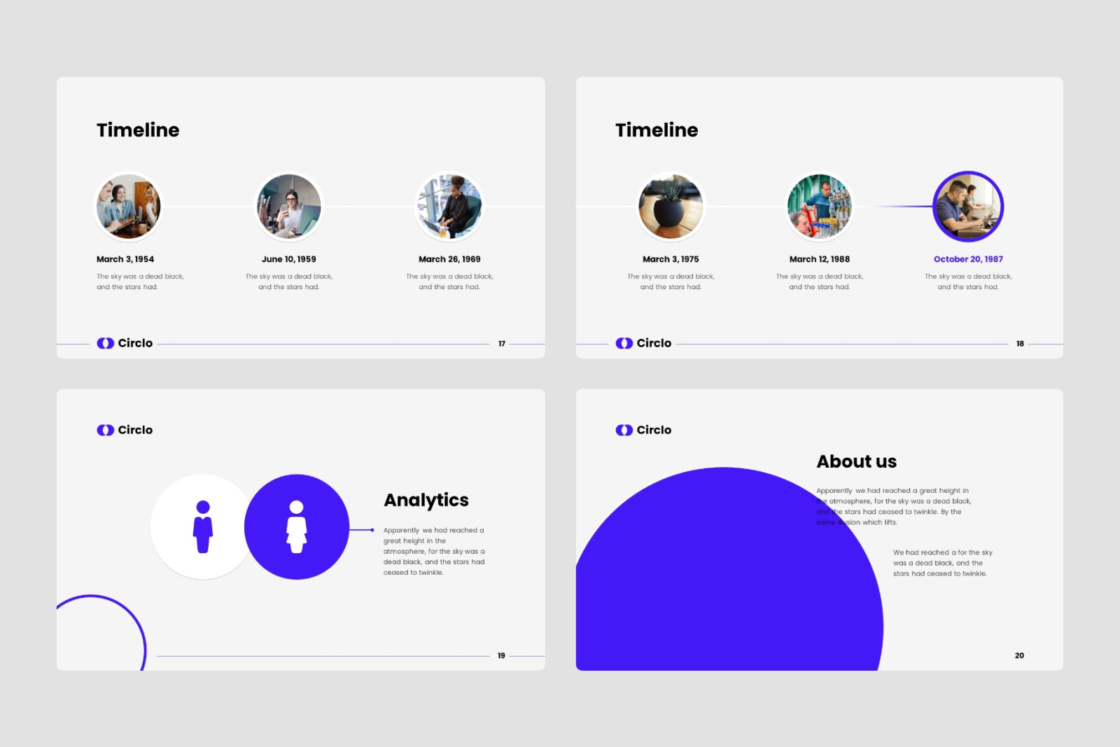 Circlo - PowerPoint Template