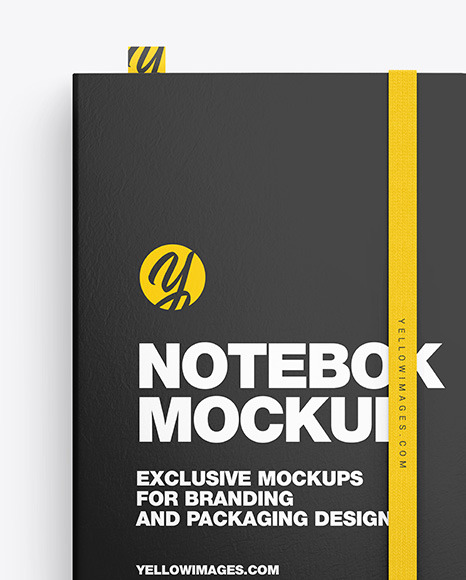 Notebook with Pen Mockup