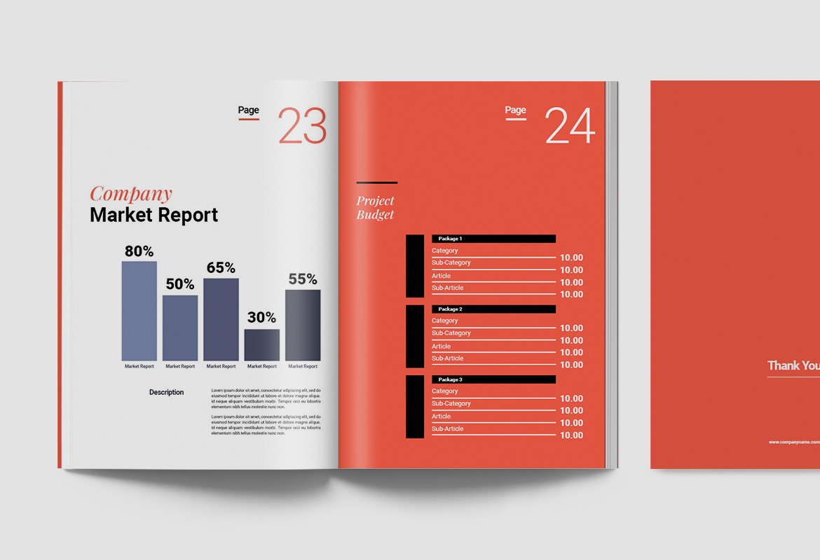 Annual Report Document Template