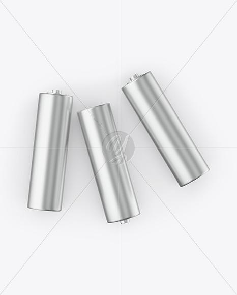 Metallic Batteries Mockup