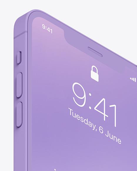 Clay iPhone 12 Pro Max Mockup