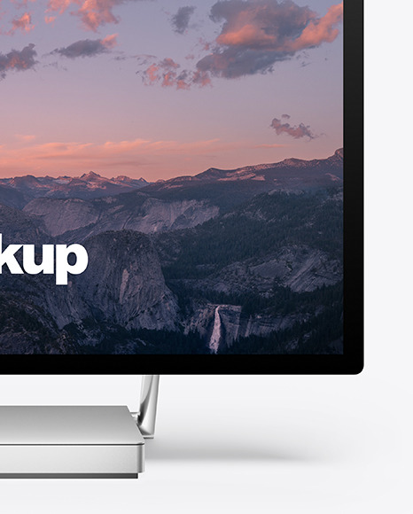 Microsoft Surface Studio Mockup