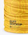 Polyester Buff Mockup