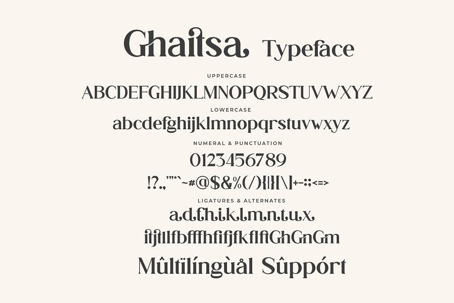 Ghaitsa Font