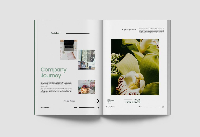 Company Profile Document Indesign