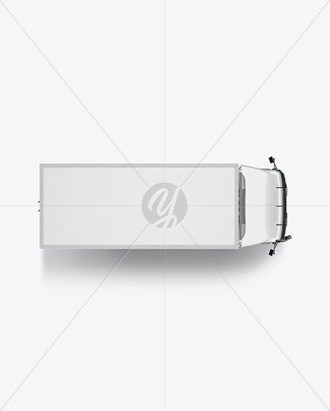 Truck Mockup - Top View