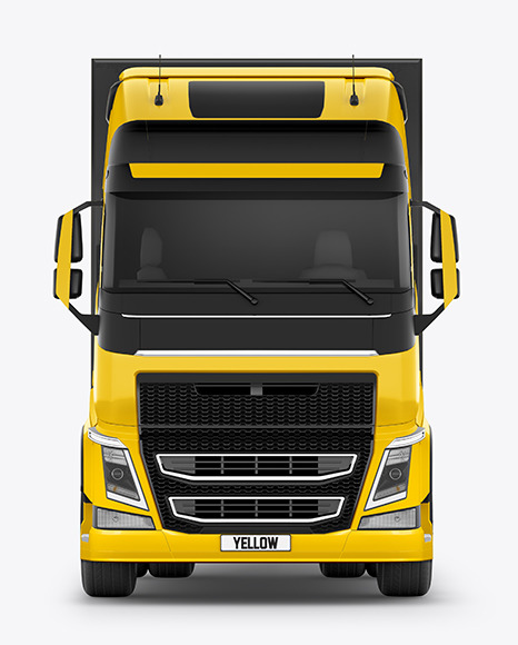 Truck Mockup - Front View