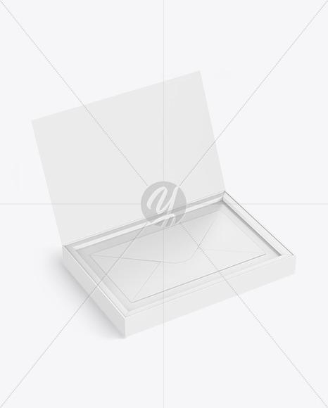 Envelope in a Box Mockup