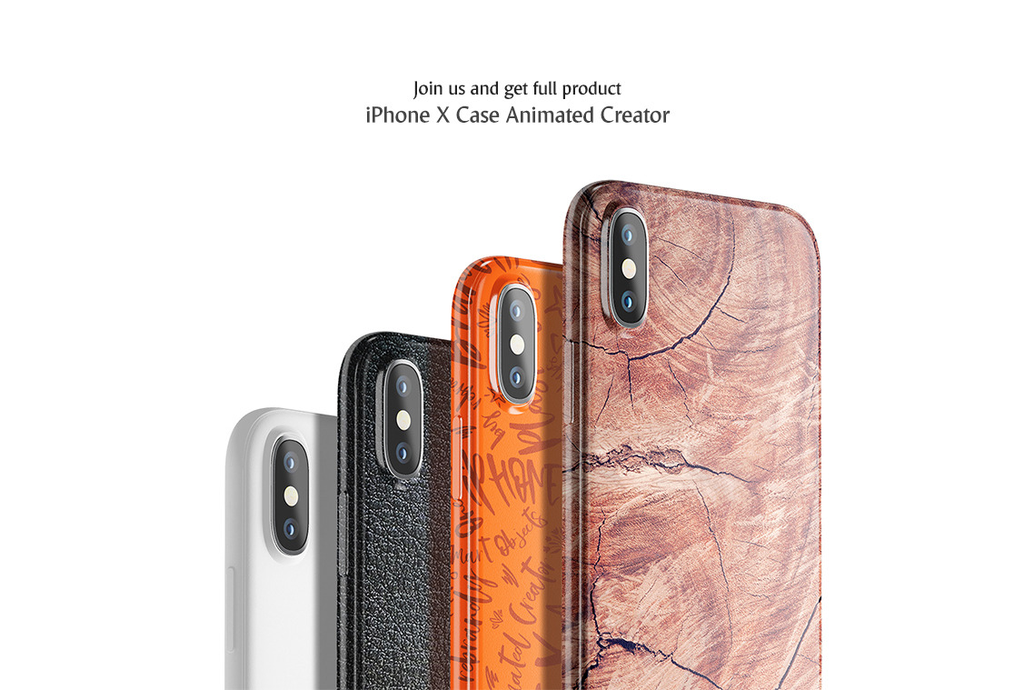 iPhone X Case Mockup