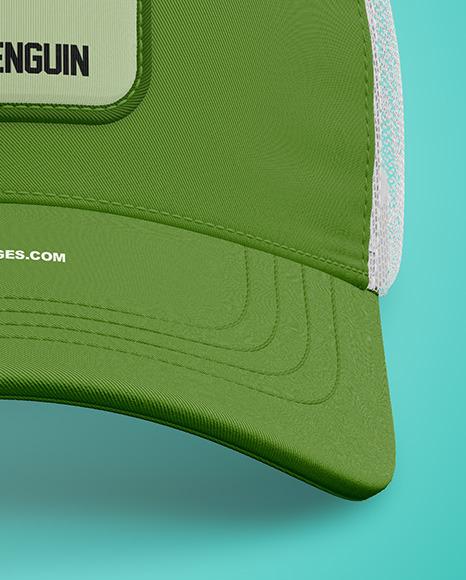 Baseball Cap Mockup - Front View