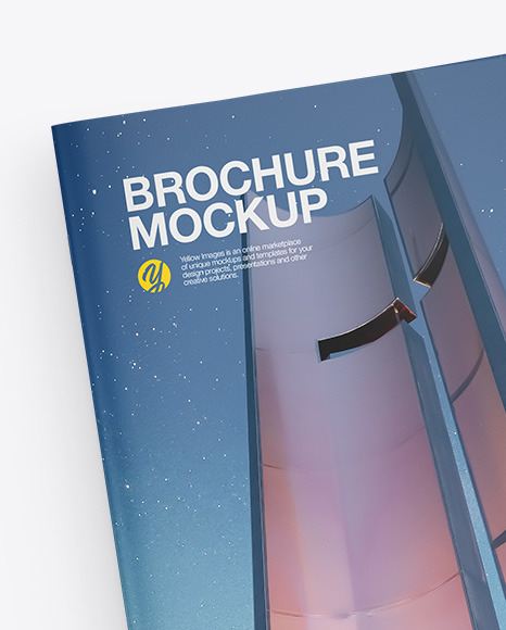 Two Magazines with Pen Mockup