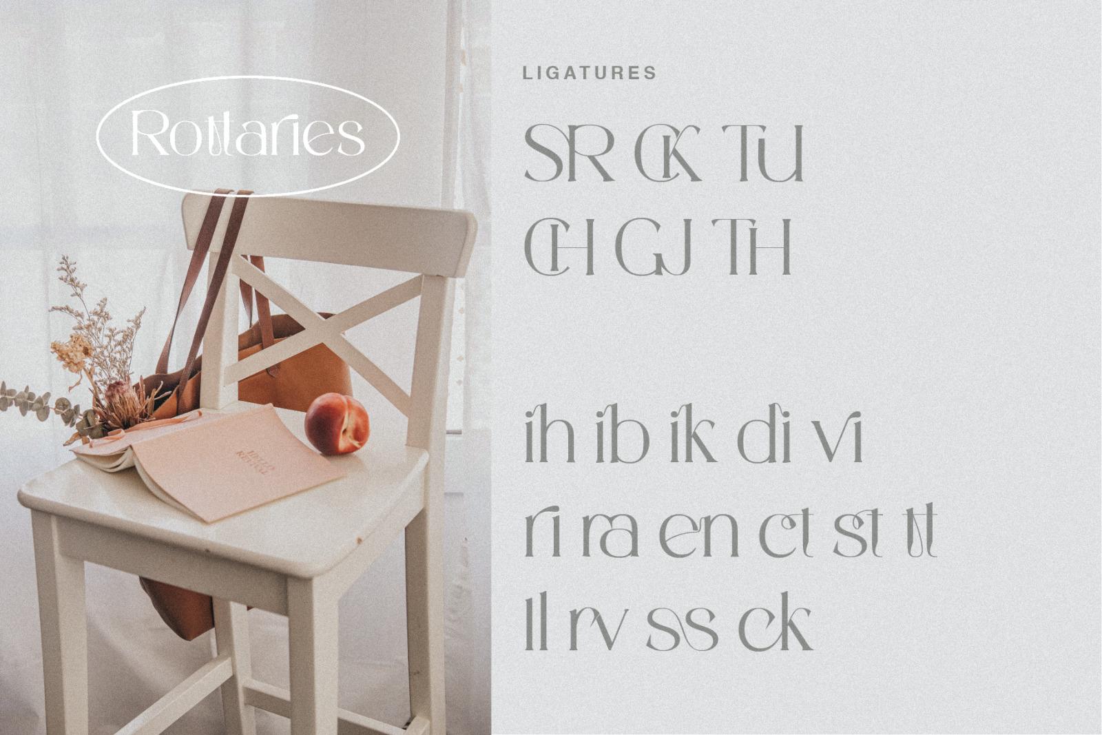 Rottaries - Modern Unique Typeface