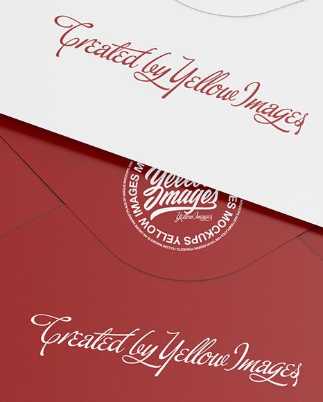Two Envelopes Mockup