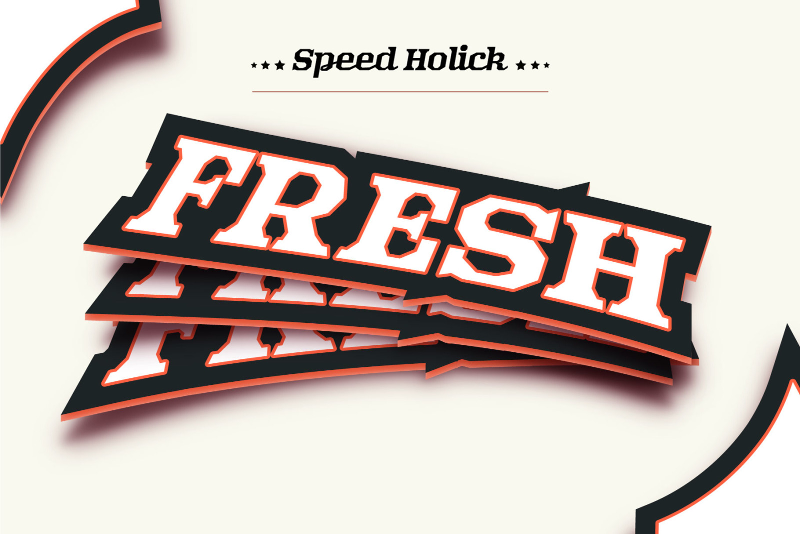 Speed Holick Typeface