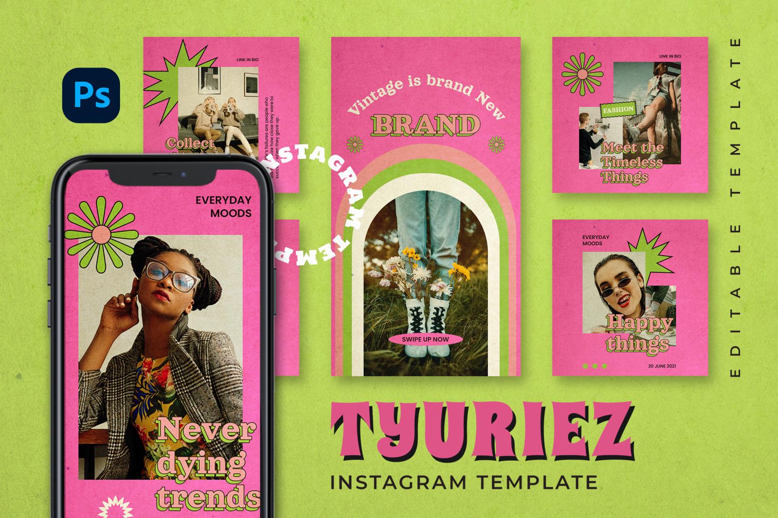 Tyuriez Instagram Template