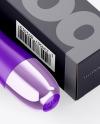Opened Paper Box w/ Vibrator Mockup