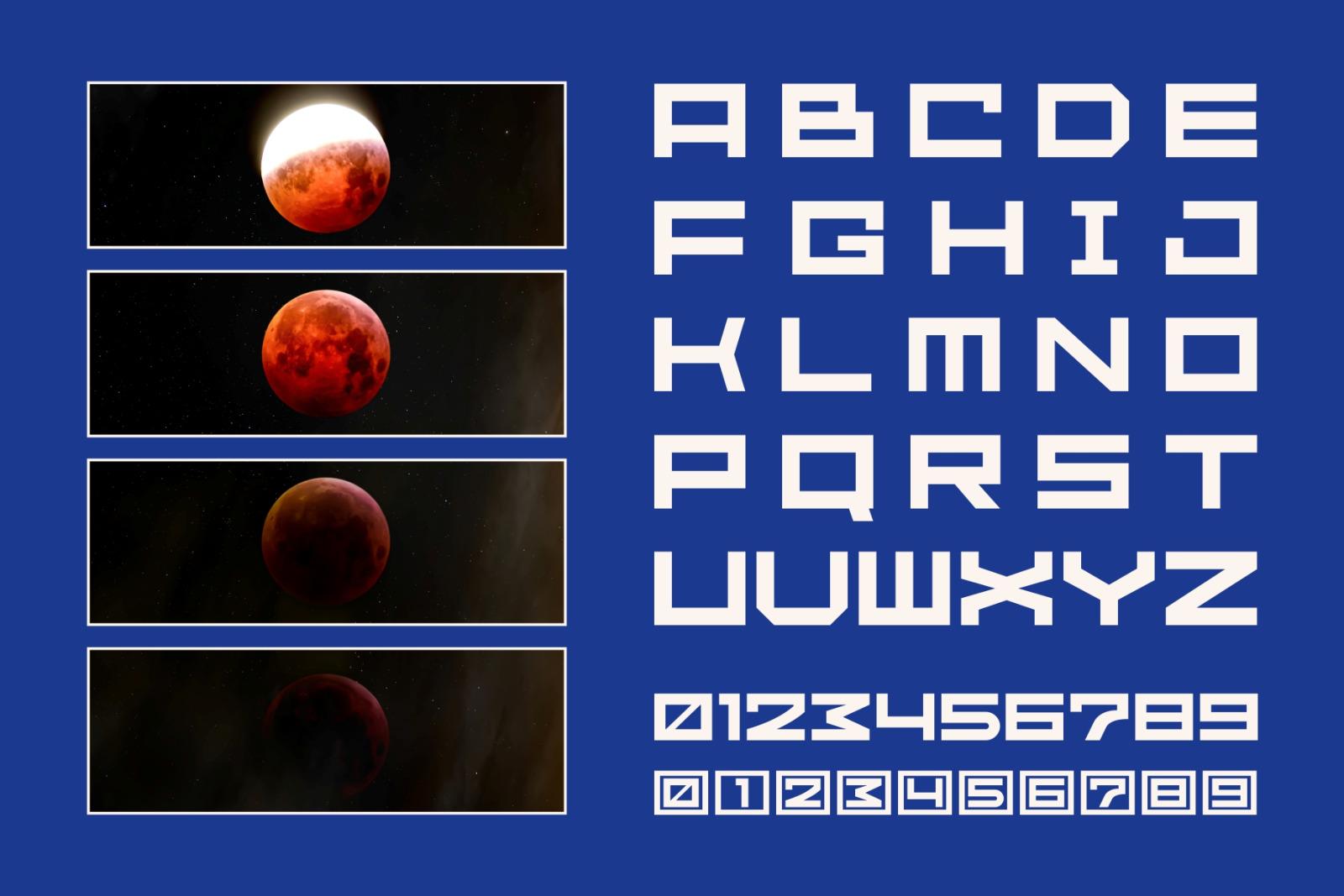 GR Fatient - Modern Cubical Typeface