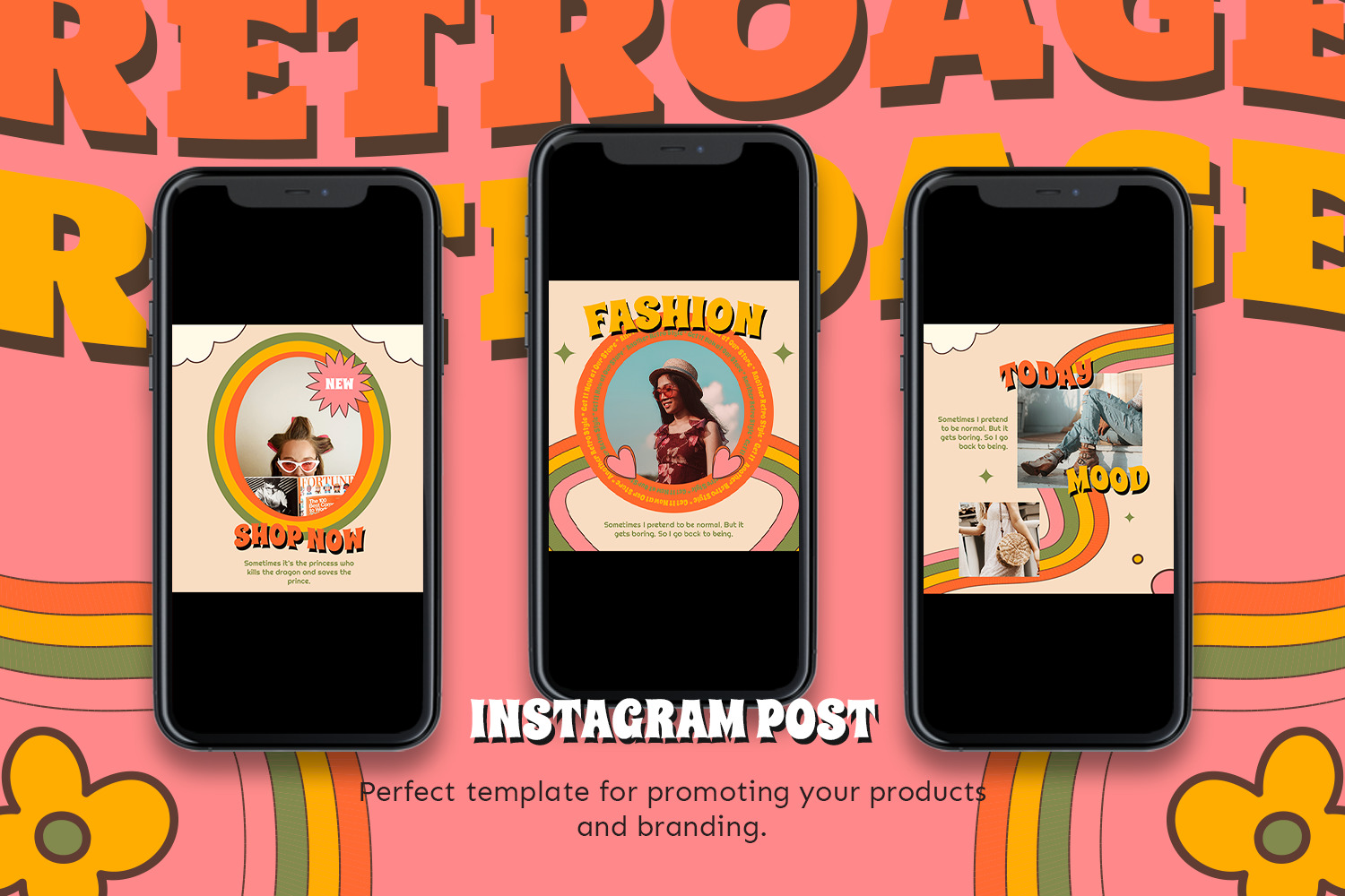 Freonia Instagram Template