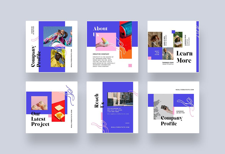 Creative Company Profile Canva