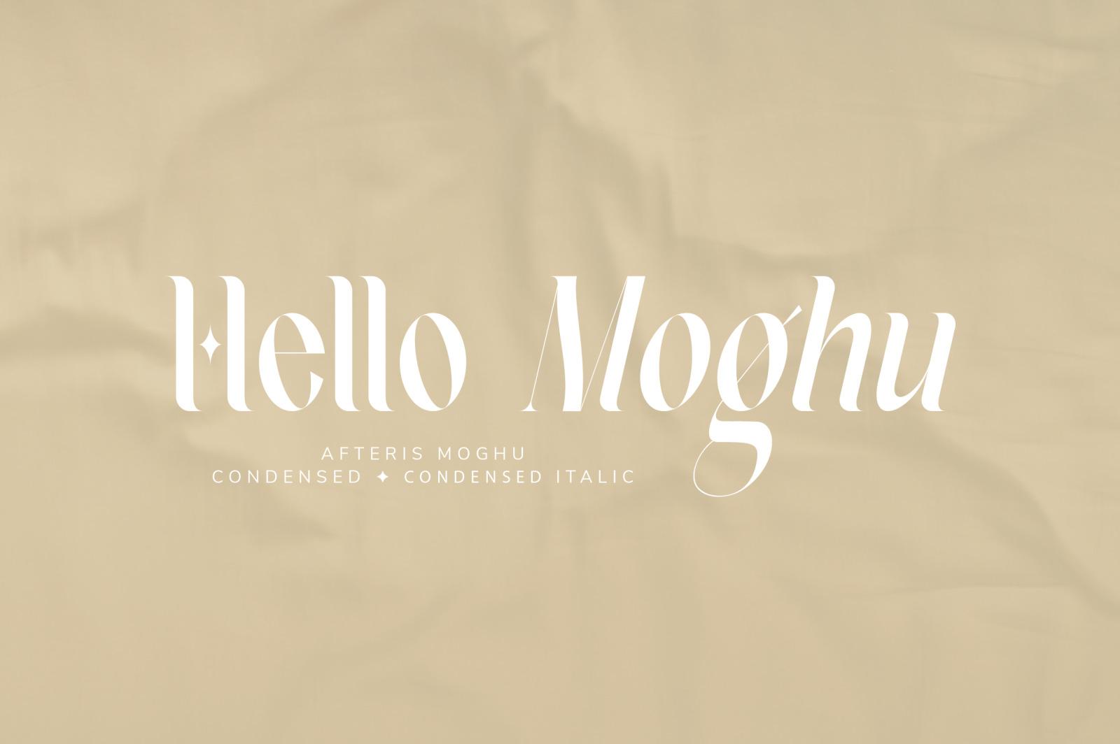 Afteris Moghu Modern/Vintage Font