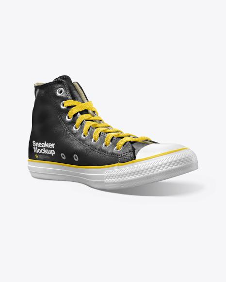 Leather Sneaker Mockup