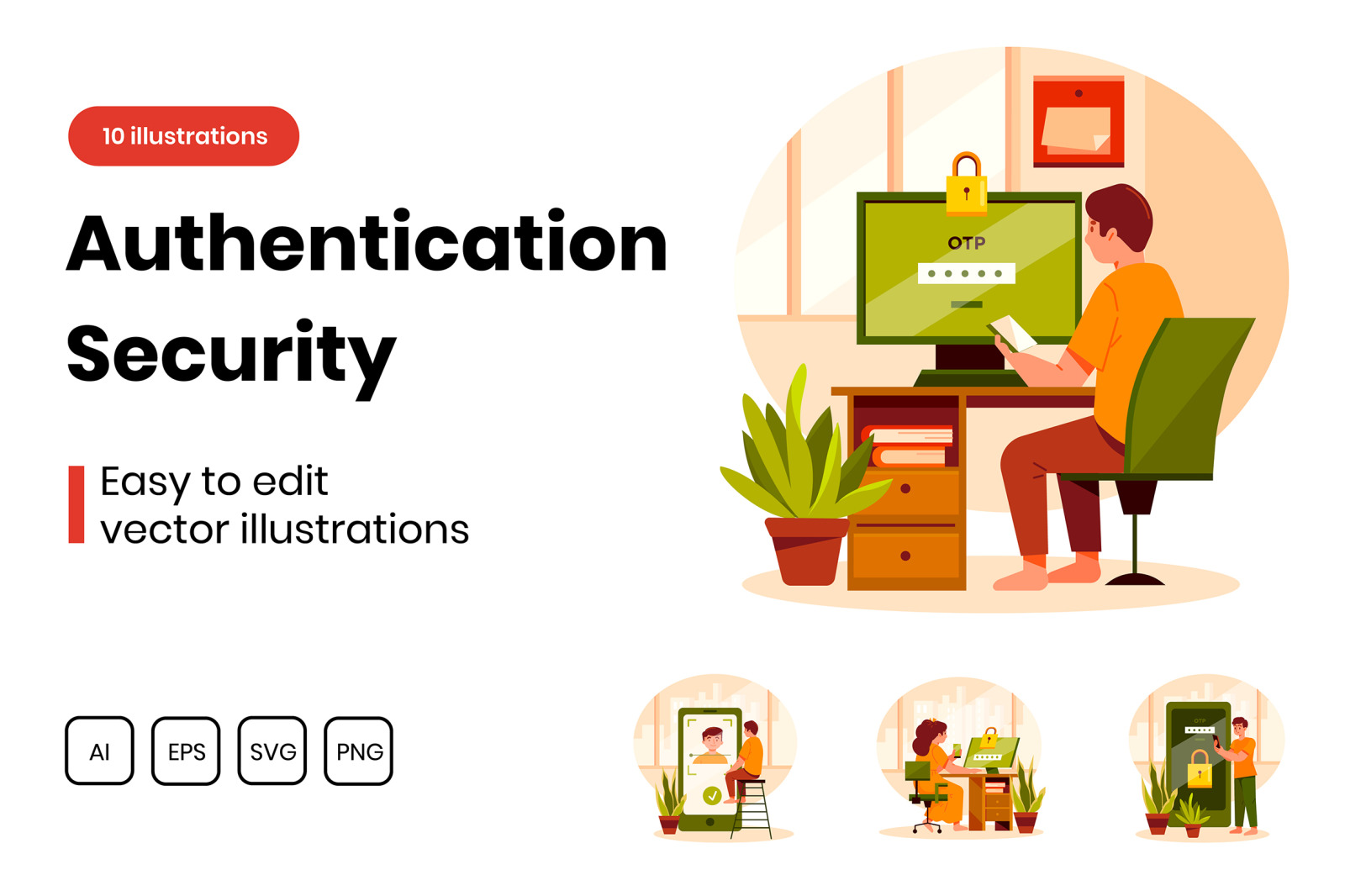 M295_ Authentication Security Illustrations