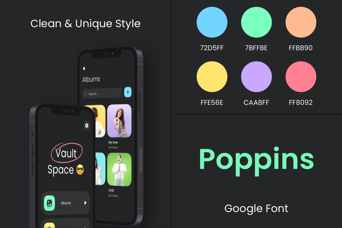 Vault app UI Kit