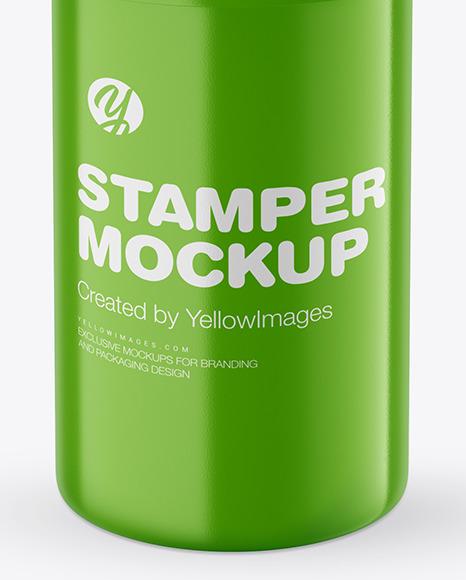 Glossy Stamper Mockup