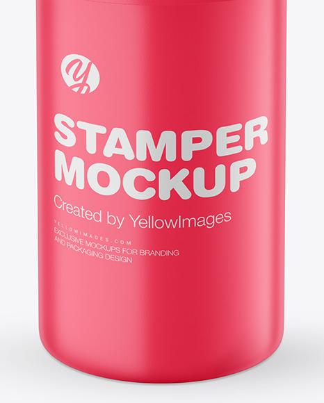 Matte Stamper Mockup