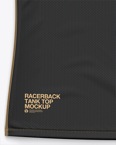 Racerback Tank Top Mockup