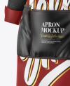 Apron With Shirt Mockup