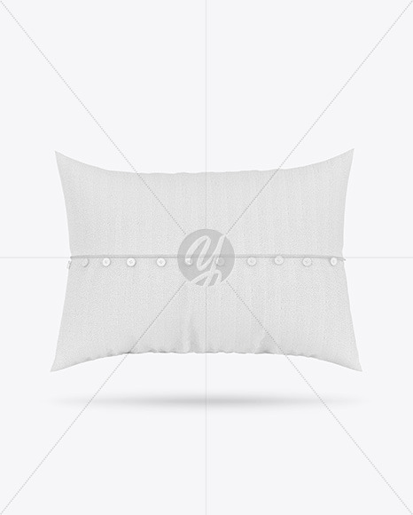 Pillow with Buttons Mockup