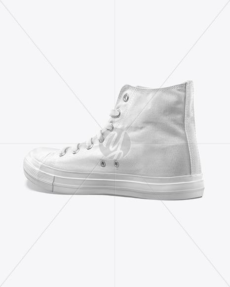 Canvas Sneaker Mockup