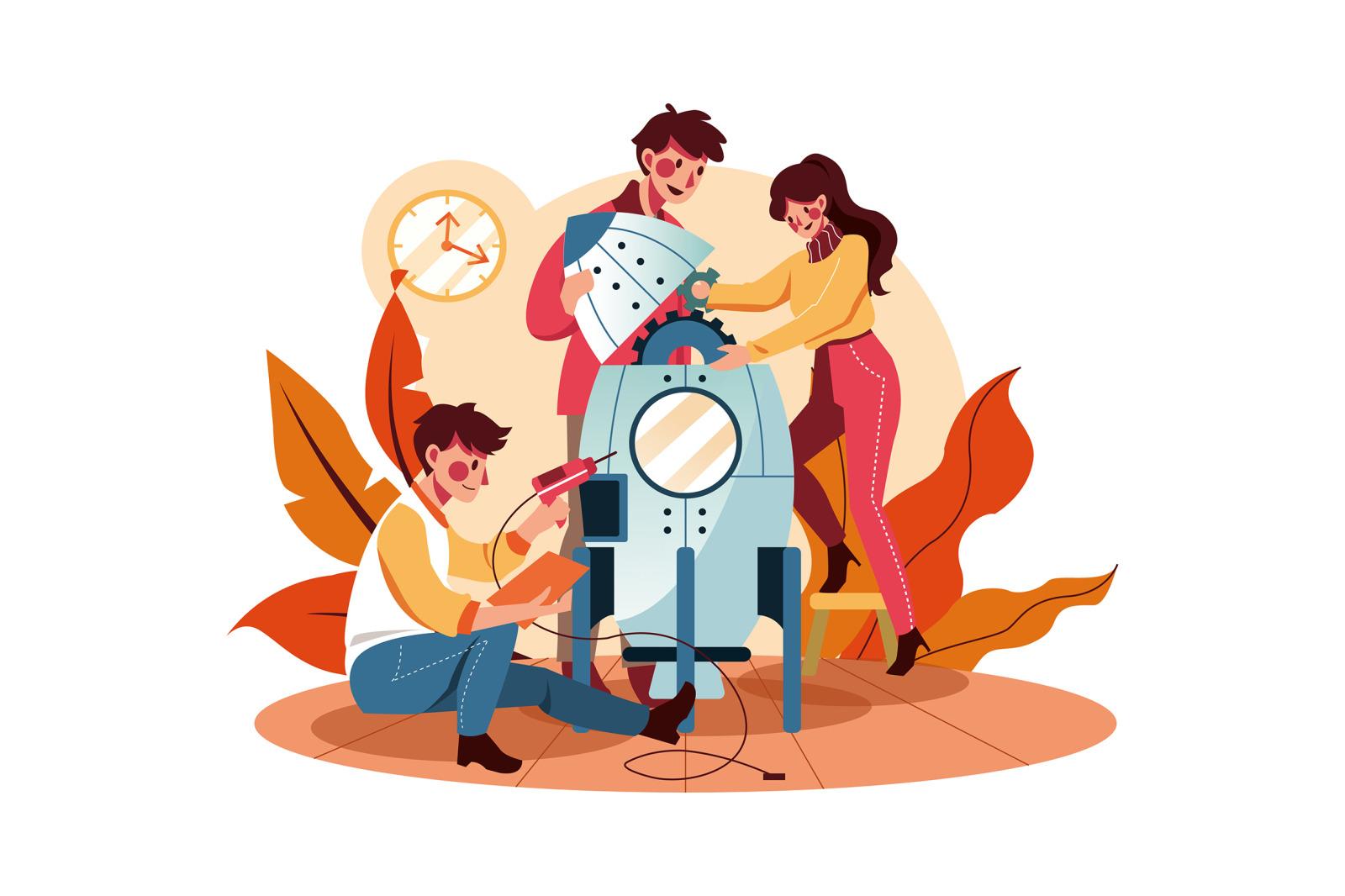 M277_Teamwork Illustrations