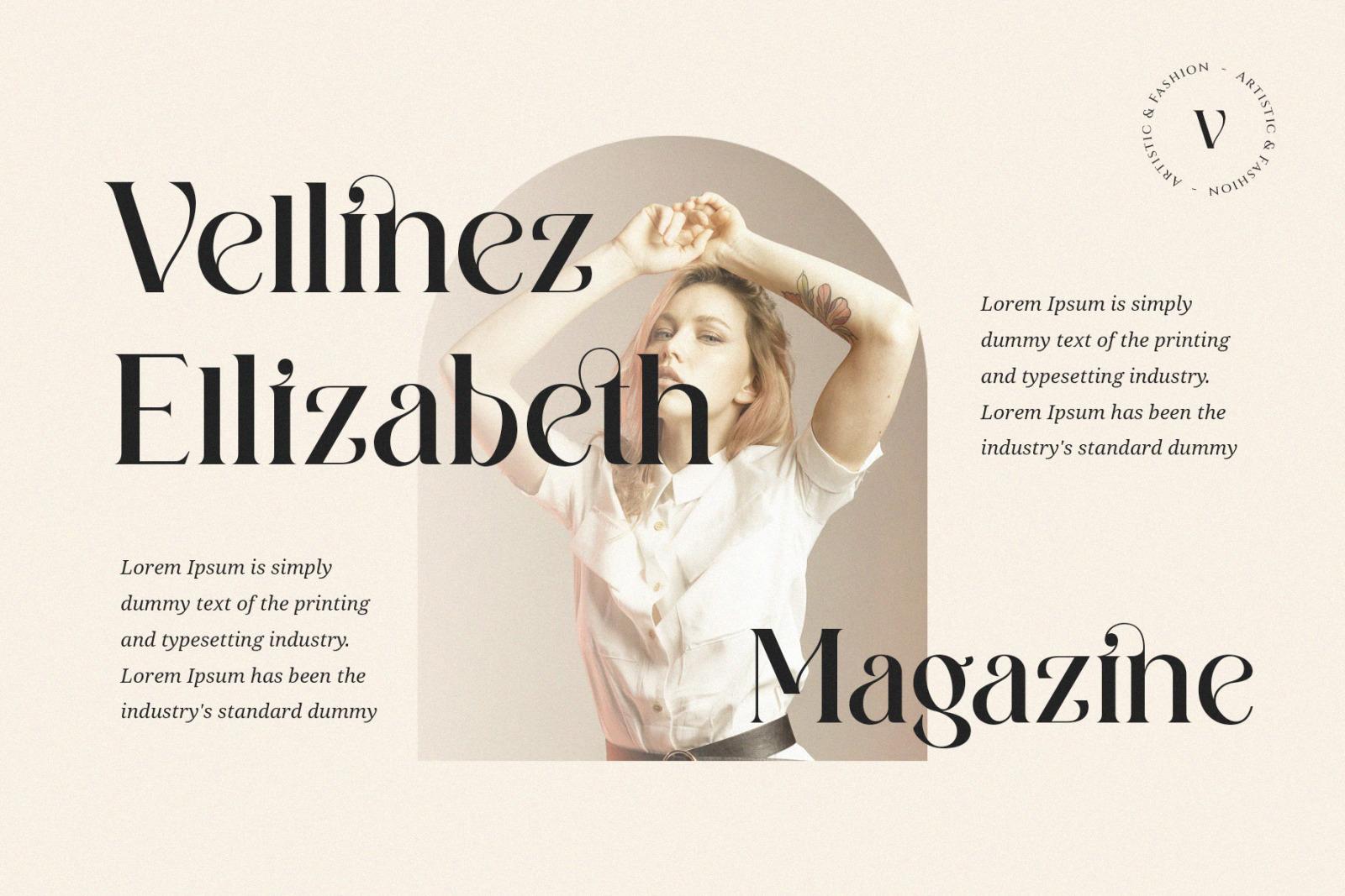 Wilkista Ligature Typeface
