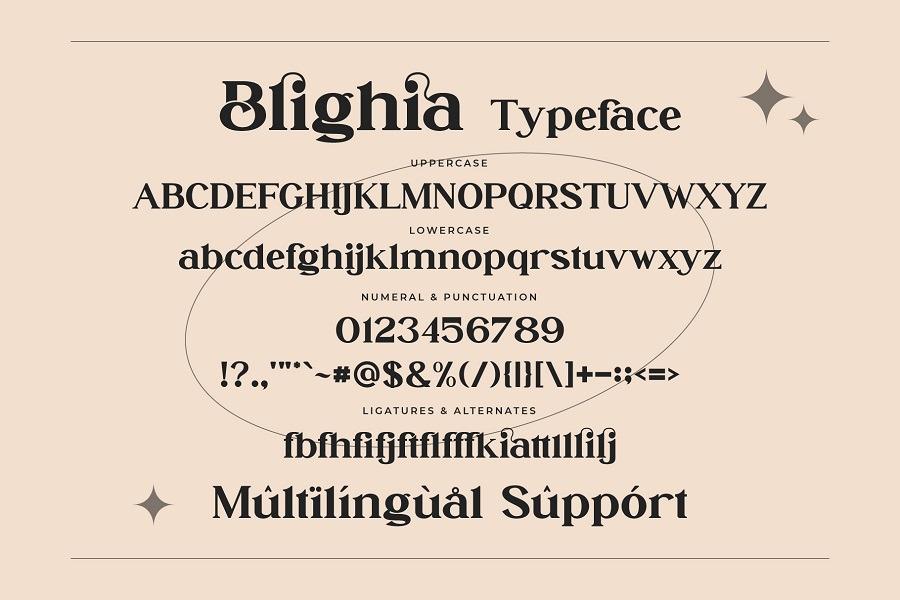 Blighia Font