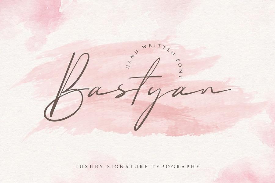 Bastyan Font
