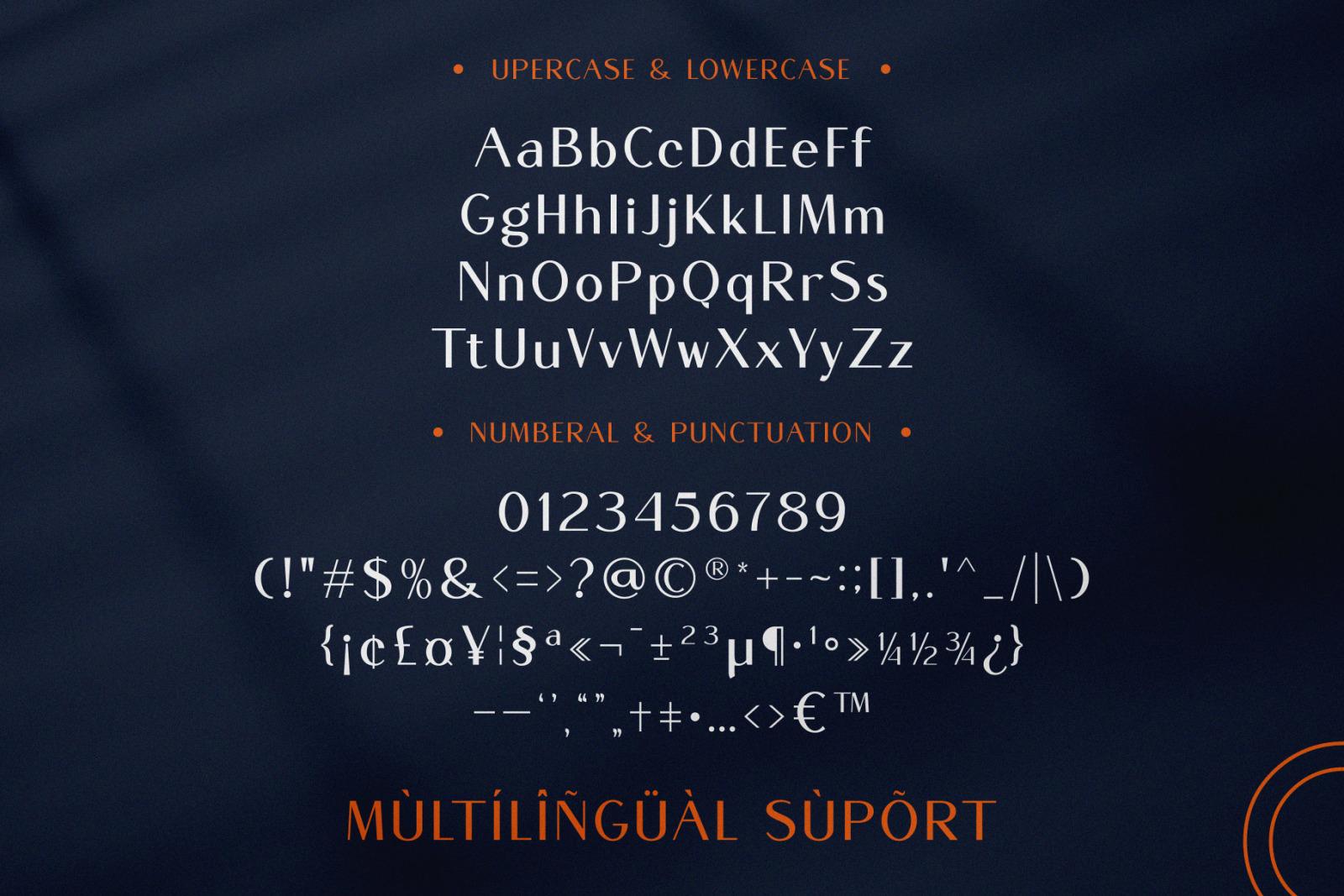 Mogen New Sans Serif Typeface