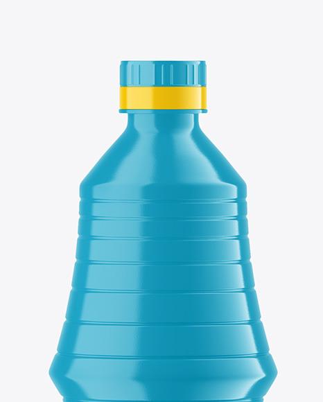 Glossy Vinegar Bottle Mockup