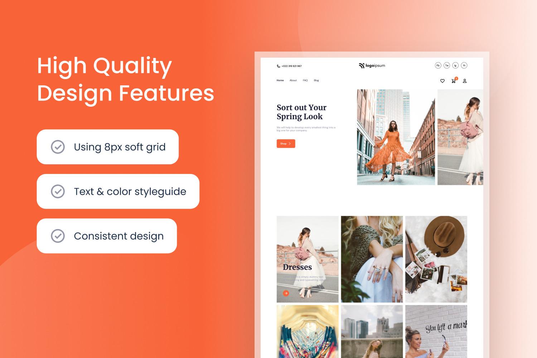 Fashion E-commerce Website Template